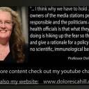Prof Dolores Cahill - COVID-19 Fraud-NO Masks-NO Distancing-NO Vaccines